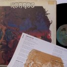 Kongos - Self Titled - Vinyl LP Record + Insert - Folk Psych Rock
