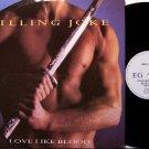 "Killing Joke - Love Like Blood - 3 Mixes - Import 12"" Vinyl Single Record - Rock"
