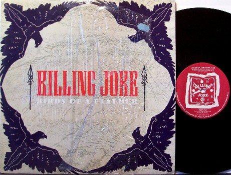 "Killing Joke - Birds Of A Feather - 12"" Vinyl Single Record - Rock"