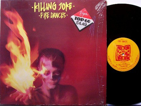 Killing Joke - Fire Dances - Import Vinyl LP Record - Rock