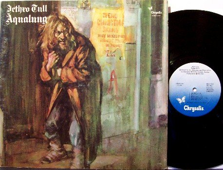 Jethro Tull - Aqualung - Vinyl LP Record + Insert - Rock