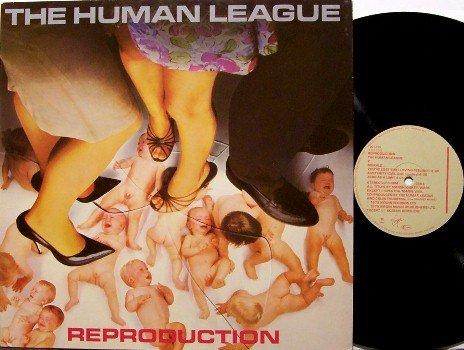 Human League, The - Reproduction - West German Pressing - Vinyl LP Record - Rock