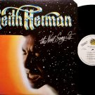 Herman, Keith - The Next Song Is - Vinyl LP Record - Steve Cropper / Tony Levin - Rock