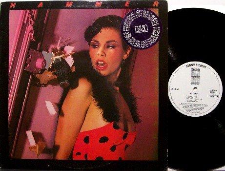 Hammer - Self Titled - Jan Hammer Band - White Label Promo - Vinyl LP Record - Rock