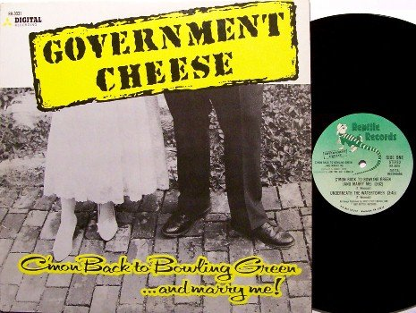 Government Cheese - C'mon Back To Bowling Green And Marry Me - Vinyl Mini LP Record - Rock