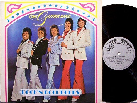 Glitter Band, The - Rock 'N Roll Dudes - UK Pressing - Vinyl LP Record - Rock