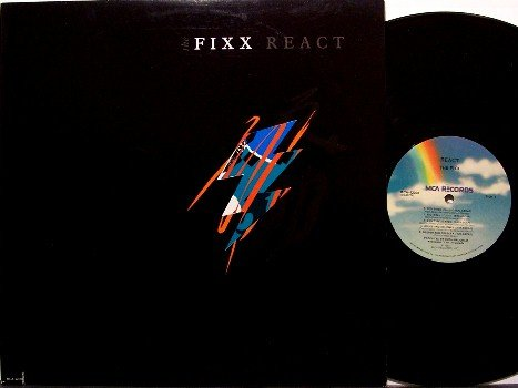 Fixx, The - React - Vinyl LP Record - Rock