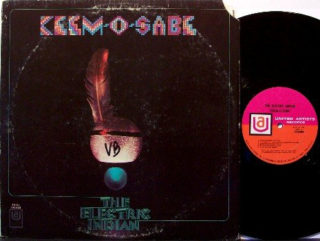 Electric Indian, The - Keem-O-Sabe - Vinyl LP Record - Rock