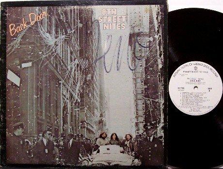 8th Street Nites - Back Door - White Label Promo - Vinyl LP Record - Eighth - Rock