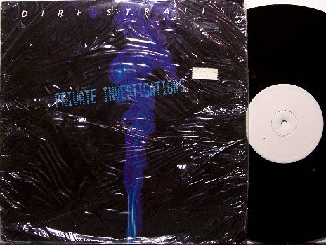 "Dire Straits - Private Investigations - Import - Vinyl 12"" Single Record - Rock"