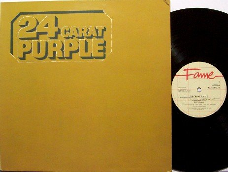 Deep Purple - 24 Carat Purple - UK Pressing - Vinyl LP Record - Rock