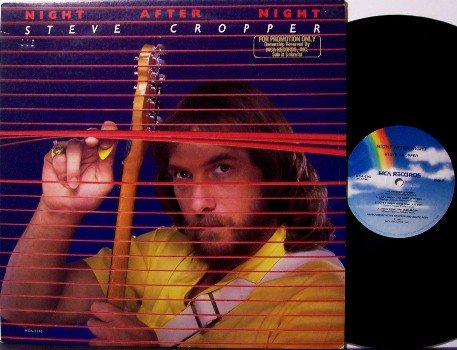 Cropper, Steve - Night After Night - Vinyl LP Record - Rock