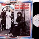 Country Joe McDonald - War War War - Vinyl LP Record - Mc Donald - Rock