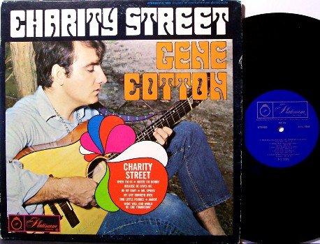 Cotton, Gene - Charity Street - Vinyl LP Record - Rock