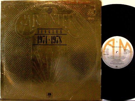 Carpenters, The - Singles 1974-1978 - UK Pressing - Vinyl LP Record - Pop