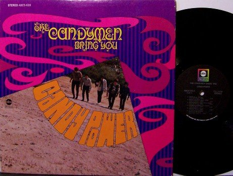 Candymen, The - Bring You Candy Power - Vinyl LP Record - Candy Men - Rock