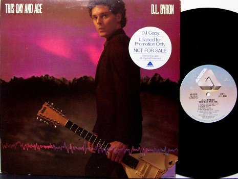 Byron, D.L. - This Day & Age - Vinyl LP Record - Rock