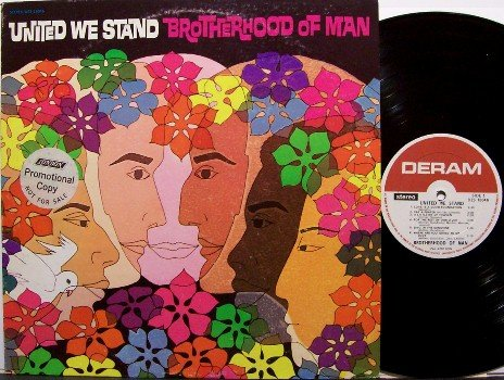 Brotherhood Of Man - United We Stand - Vinyl LP Record - Rock