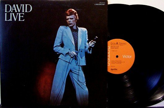Bowie, David - David Live - Vinyl 2 LP Record Set - Rock