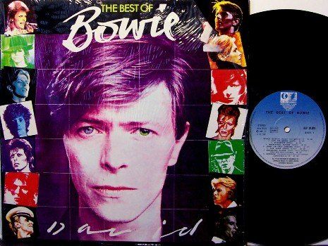 Bowie, David - The Best Of Bowie - France Pressing - Vinyl LP Record - Rock