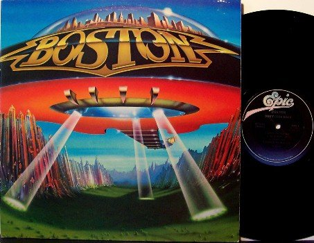 Boston - Don't Look Back - Vinyl LP Record - Brad Delp - Rock