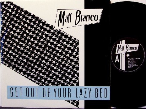 """Bianco, Matt - Get Out Of Your Lazy Bed Extended Mix - UK Pressing - Vinyl 12"""" Single Record -Rock"""