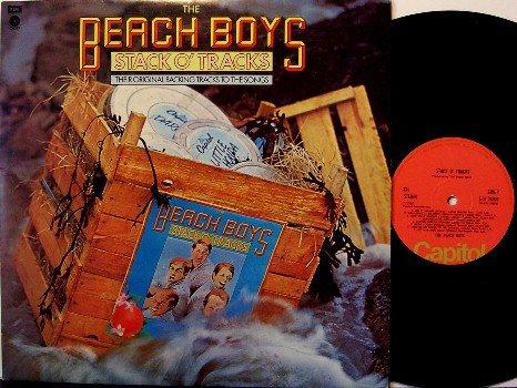 Beach Boys, The - Stack O' Tracks - UK Pressing - Vinyl LP Record - Rock