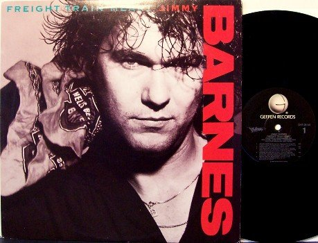 Barnes, Jimmy - Freight Train Heart - Vinyl LP Record - Rock