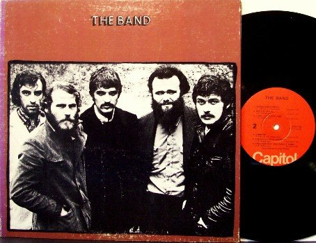 Band, The - Self Titled - Vinyl LP Record - Rock