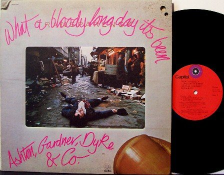 Ashton Gardner Dyke & Co - What A Bloody Long Day It's Been - Vinyl LP Record - Rock