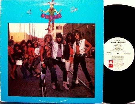 Antix - Get Up Get Happy - Vinyl LP Record - Rock