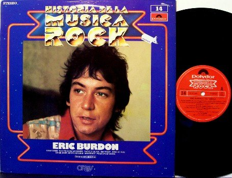 Animals, The / Eric Burdon - Historia De La Musica Rock - Spain Pressing - Vinyl LP Record - Rock
