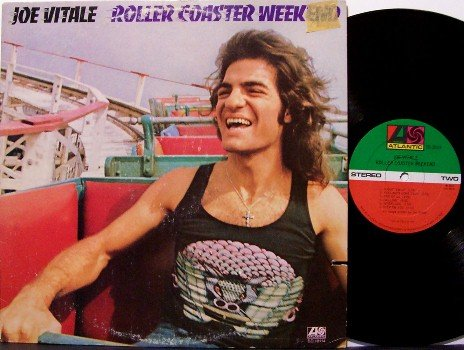 Vitale, Joe - Roller Coaster Weekend - Vinyl LP Record - Joe Walsh / Rick Derringer - Rock