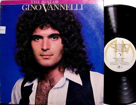 Vannelli, Gino - The Best Of Gino Vannelli - Vinyl LP Record - Pop Rock
