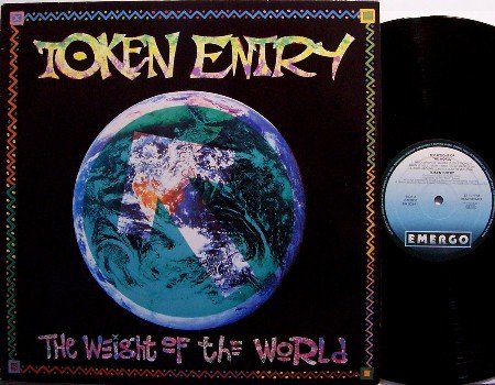 Token Entry - The Weight Of The World - Holland Pressing - Vinyl LP Record - Rock