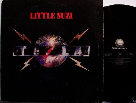 "Tesla - Little Suzi - Two Mixes - Promo Only - 12"" Vinyl Record - Rock"