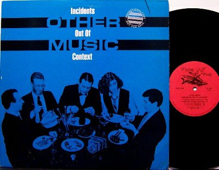 Other Music - Incidents Out Of Context - Vinyl LP Record - Experimental Prog Rock