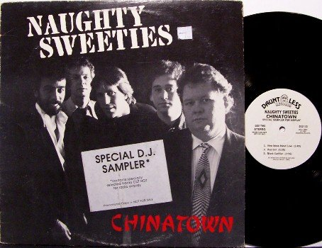 Naughty Sweeties - Special Promo Only DJ Radio Sampler - Vinyl LP Record - Rock