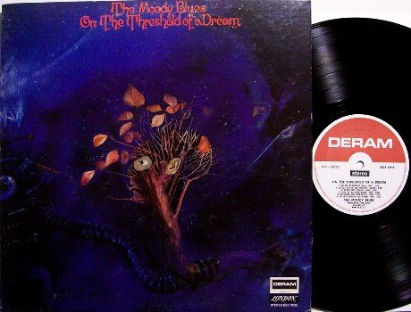 Moody Blues, The - On The Threshold Of A Dream - Vinyl LP Record + Insert - Rock