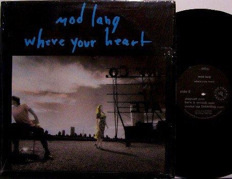 Mod Lang - Where Your Heart - Vinyl Mini LP Record - Rock