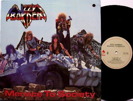 Lizzy Borden - Menace To Society - Vinyl LP Record - Rock