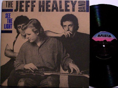 Healey, Jeff Band - See The Light - Vinyl LP Record - Blues Rock