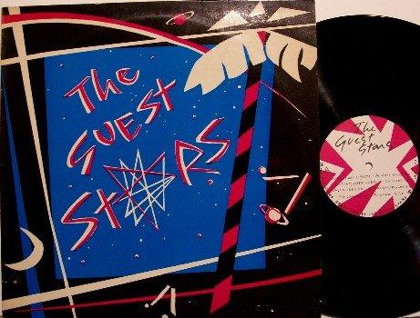 Guest Stars, The - Self Titled - UK Pressing - Vinyl LP Record - Jazz Funk Rock