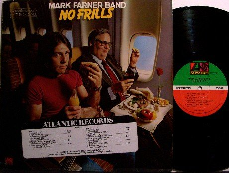 Farner, Mark - No Frills - Vinyl LP Record - Grand Funk - Rock
