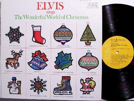 Presley, Elvis - Sings The Wonderful World Of Christmas - Vinyl LP Record - Rock