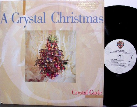 Gayle, Crystal - A Crystal Christmas - Vinyl LP Record - Country
