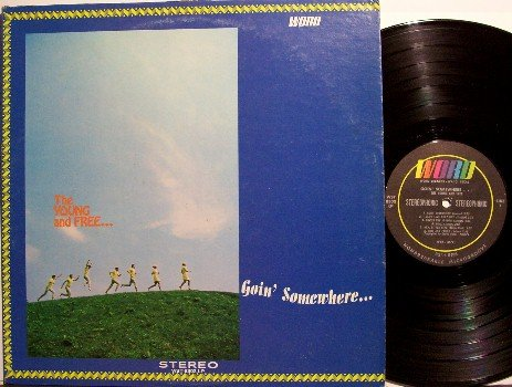 Young & Free, The - Goin' Somewhere - Vinyl LP Record - Christian Sunshine Rock