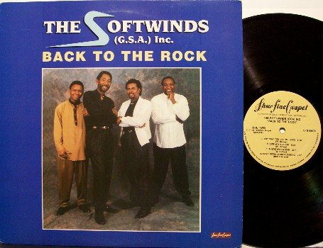 Softwinds GSA Inc, The - Back To The Rock - Vinyl LP Record - Christian Gospel
