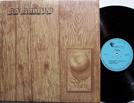 New Vision - So Simple - Vinyl LP Record - Private Tennessee Christian