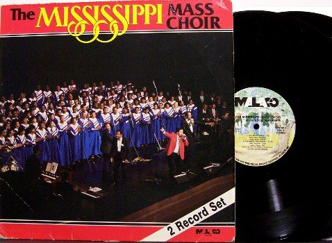 Mississippi Mass Choir, The - Self Titled - Vinyl 2 LP Record Set - Gospel